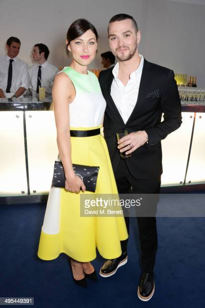 Emma Willis and Matt Willis attend the Glamour Women of the Year Awards in Berkeley Square Gardens on June 3 2014 in London England