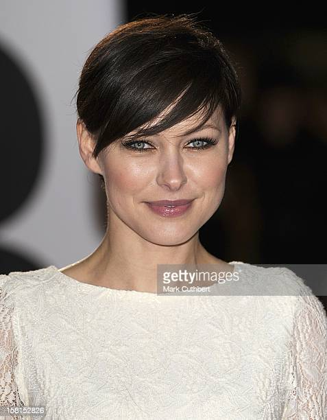 Emma Willis Arriving For The 2011 Brit Awards At The O2 Arena London