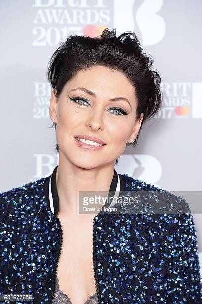 ARTIST Emma Willis attends BRITS nominations launch at ITV Studios on January 14 2017 in London England