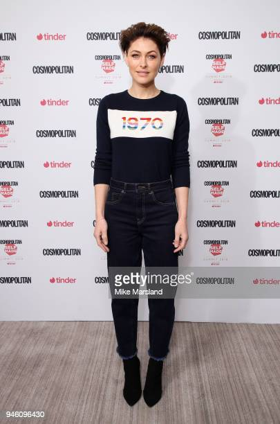 Emma Willis attends Cosmopolitan's Self Made Summitat etcvenues County Hall on April 14 2018 in London England
