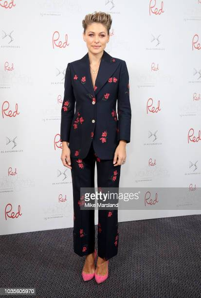 Emma Willis attends Red Magazines 20th Birthday Party held at No 11 Carlton House Terrace on September 18 2018 in London England
