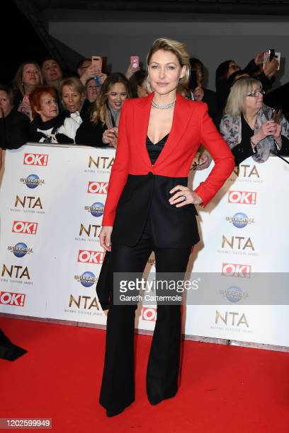 Emma Willis attends the National Television Awards 2020 at The O2 Arena on January 28 2020 in London England