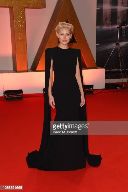 Emma WIllis attends the National Television Awards held at The O2 Arena on January 22 2019 in London England