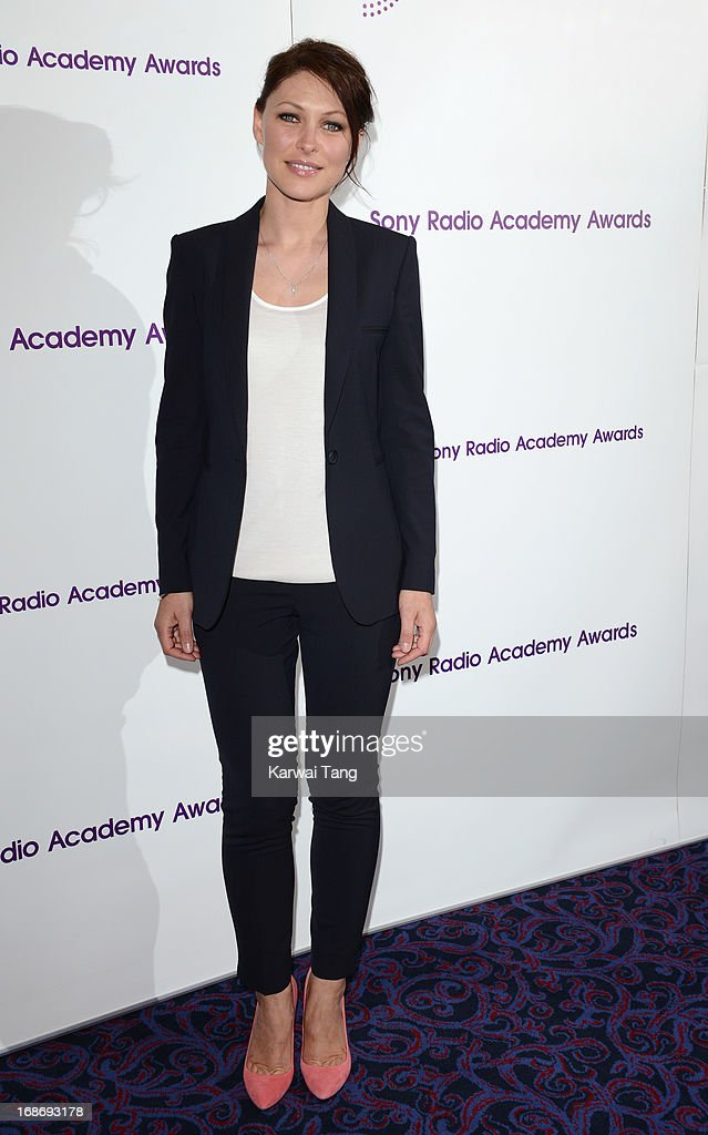 Emma Willis attends the Sony Radio Academy Awards at The Grosvenor House Hotel on May 13, 2013 in London, England.