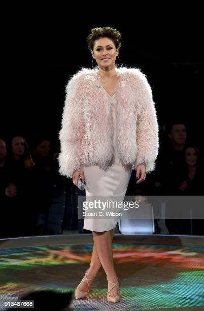 Emma Willis during the 2018 Celebrity Big Brother Final at Elstree Studios on February 2 2018 in Borehamwood England