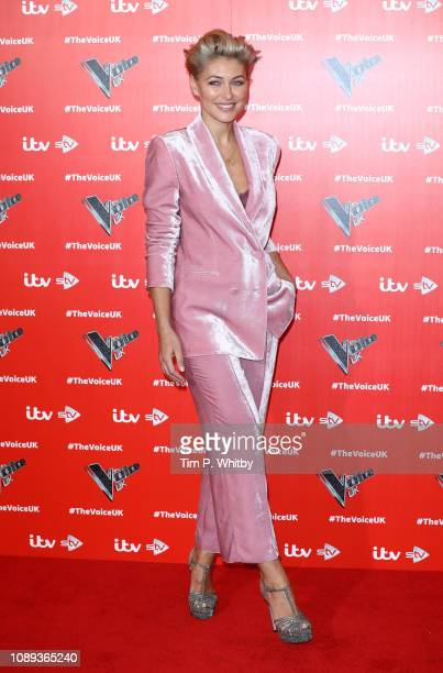 Emma Willis during The Voice UK 2019 launch at W hotel Leicester Square on January 03 2019 in London England