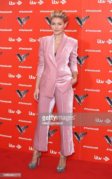 Emma Willis during The Voice UK 2019 launch at W hotel Leicester Sq on January 03 2019 in London England