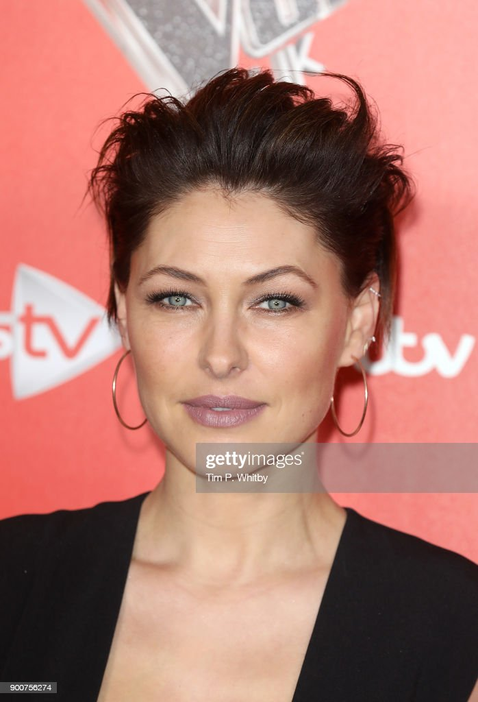 Emma Willis during The Voice UK Launch photocall held at Ham Yard Hotel on January 3, 2018 in London, England.