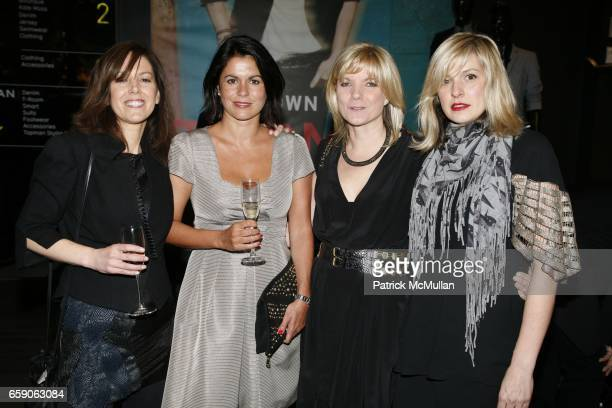 Emma Wisden Pilar Garcia Mary Homer and Karen Bosner attend TOPSHOP TOPMAN HOSTS VIP SHOPPING EVENT TO CELEBRATE FLAGSHIP STORE OPENING at TOPSHOP...