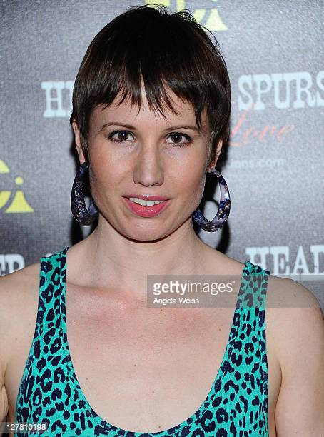Emma Zerner arrives at the world premiere of 'Head Over Spurs In Love' at Majestic Crest Theatre on March 24, 2011 in Los Angeles, California.