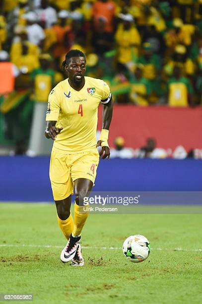 Emmanuel Adebayor of Togo during the African Nations Cup match between Togo and Congo on January 24 2017 in Port Gentil Gabon