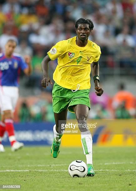 Emmanuel Adebayor Sportler Fussball Togo FIFA WM 2006