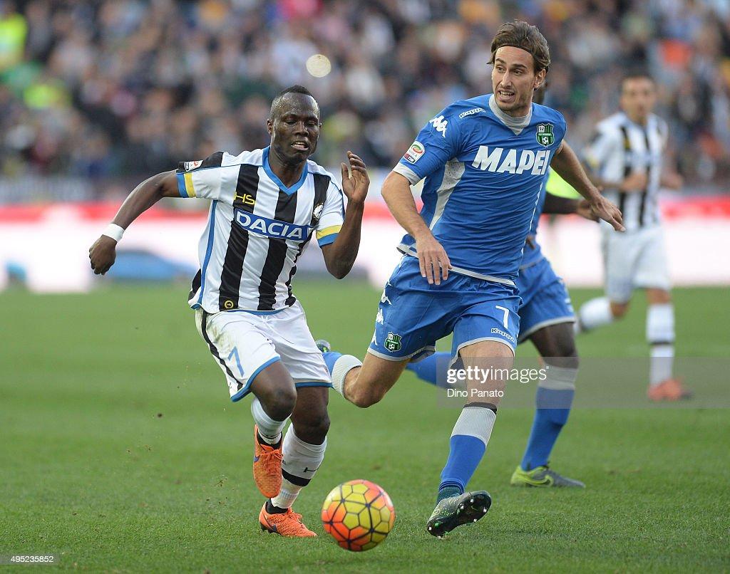Udinese Calcio v US Sassuolo Calcio - Serie A : News Photo