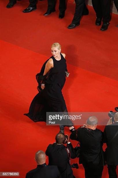 """Emmanuel Béart attends the """"It's Only The End Of The World """" Premiere during the 69th annual Cannes Film Festival at the Palais des Festivals on May..."""