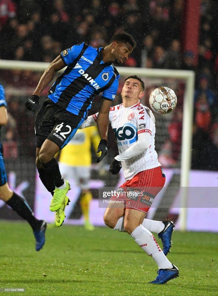 Emmanuel Bonaventure Dennis Forward Of Club Brugge Pictured During News Photo Getty Images