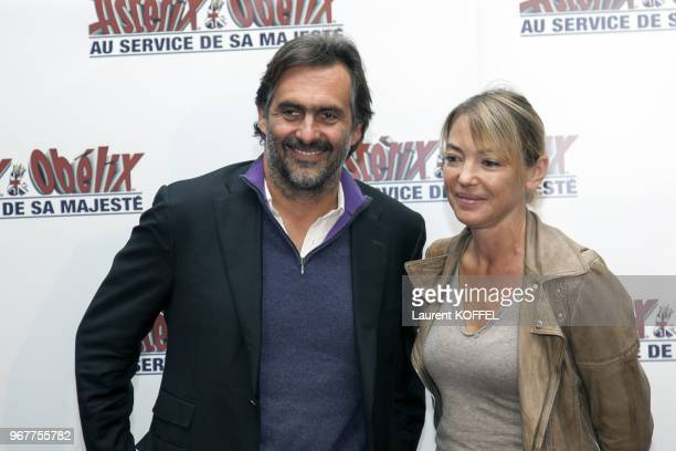 Emmanuel Chain attends at 'Asterix et Obelix au service de sa majeste' film premiere at 'Le Grand Rex' on September 30 2012 in Paris France