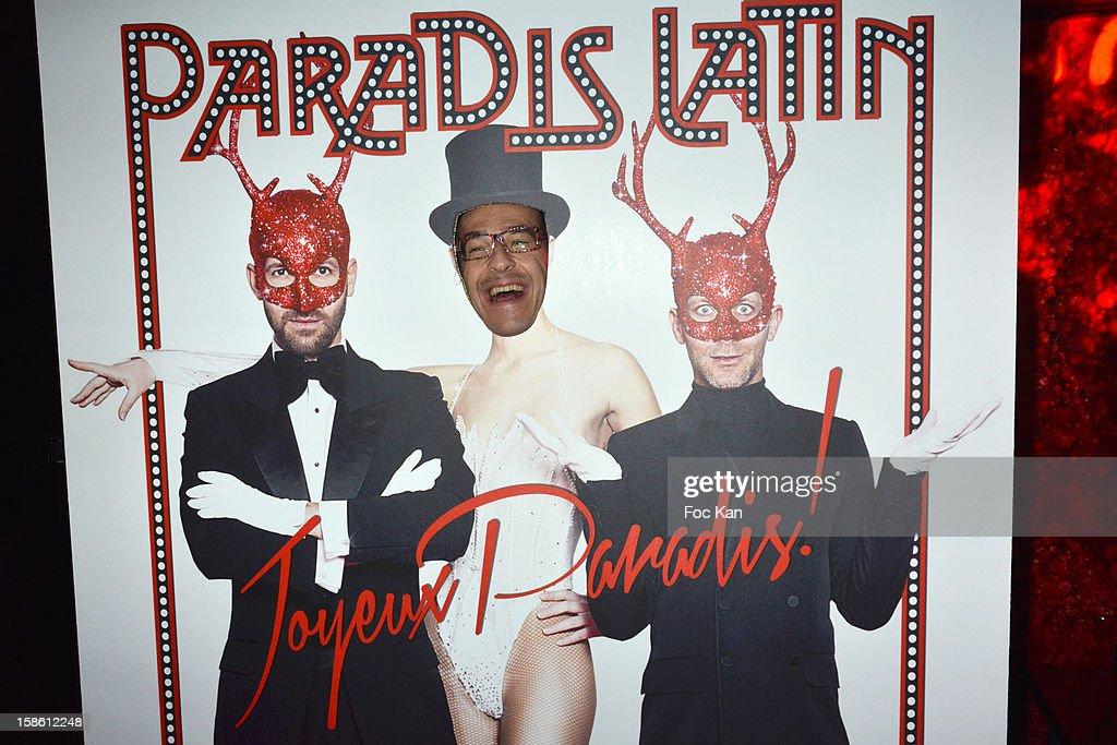 Emmanuel de Brantes attends the 'Joyeux Paradis' Party by Emmanuel d'Orazio & Marc Zaffuto at Le Paradis Latin on December 20, 2012 in Paris, France.
