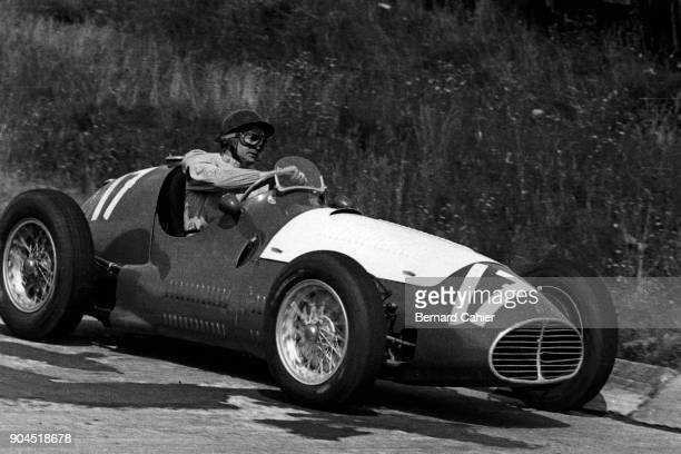 Emmanuel de Graffenried Maserati A6GCM Grand Prix of Germany Nurburgring 02 August 1953