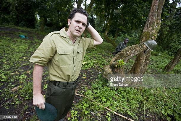 Emmanuel De Merode tireless ICCN Congolese Conservation Director of Virunga National Park makes an emotional return to Bukima in the Mountain Gorilla...