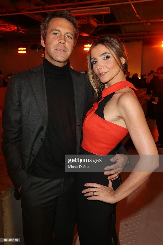 Emmanuel de Savoie and Clotilde Coureau attend the Make Up For Ever Party at Palais De Tokyo on January 31, 2013 in Paris, France.