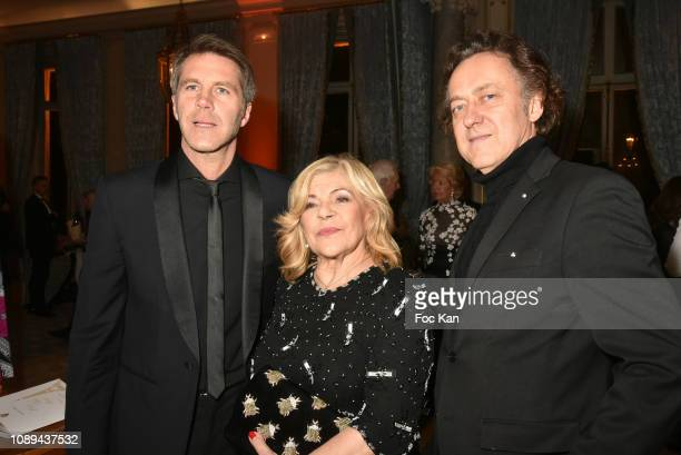 Emmanuel de Savoie Nicoletta and Jean Christophe Molinier attend the The Best Awards 42nd Edition at Cercle Interallie on January 25 2019 in Paris...
