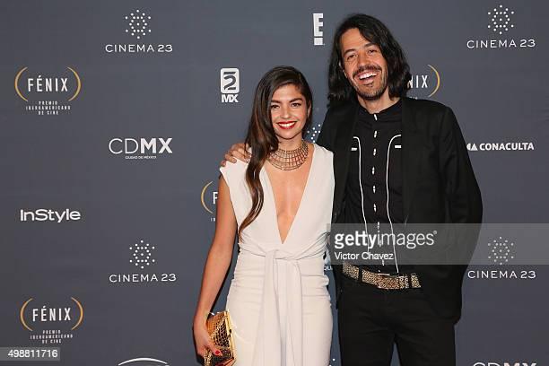 Emmanuel del Real Meme attends Premio Iberoamericano de Cine Fenix 2015 at Teatro de La Ciudad on November 25 2015 in Mexico City Mexico