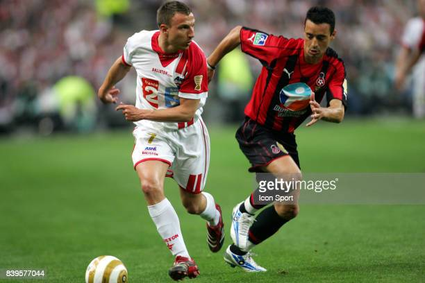 Emmanuel DUCHEMIN / Olivier ECHOUAFNI Nancy / Nice Finale Coupe de la Ligue Stade de France