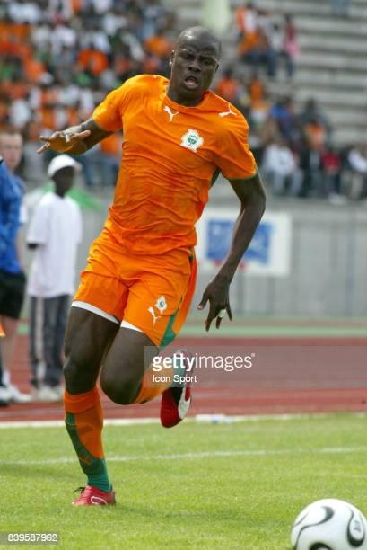 Emmanuel EBOUE 6 Cote d'Ivoire / Slovenie Match Amical Evry