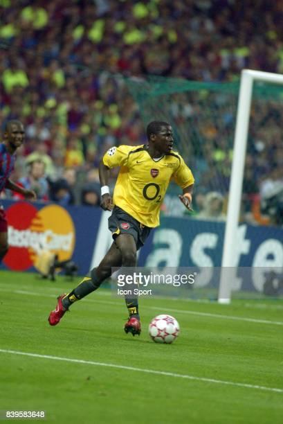 Emmanuel EBOUE Barcelone / Arsenal Finale Champions League 2005/2006 Stade de France