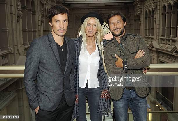 Emmanuel Horvilleur, Cris Morena and Diego Torres attend Latin GRAMMY En Las Escuelas - Buenos Aires with the Universidad Nacional de Tres de Febrero...