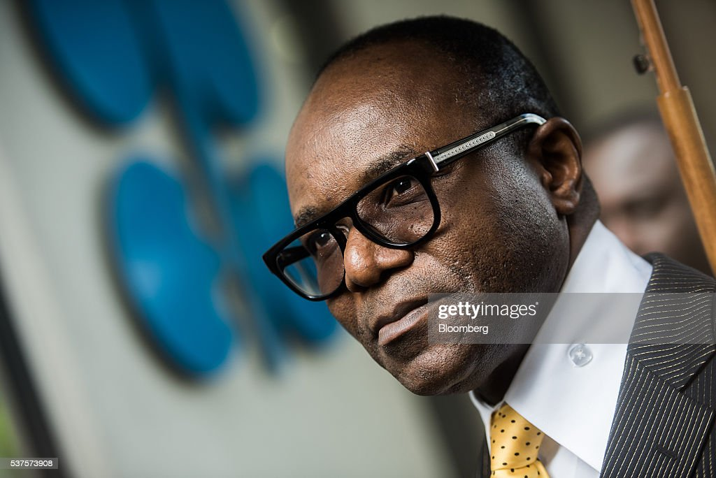 Emmanuel Ibe Kachikwu, Nigeria's petroleum and resources minister, looks on as he departs the 169th Organization of Petroleum Exporting Countries (OPEC) meeting in Vienna, Austria, on Thursday, June 2, 2016. Saudi Arabia is ready to consider a surprise deal with fellow OPEC members, attempting to mend divisions that had grown so wide many dubbed the group as good as dead. Photographer: Akos Stiller/Bloomberg via Getty Images