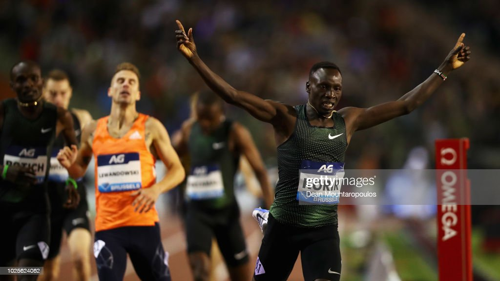 Brussels - IAAF Diamond League 2018: AG Memorial Van Damme : News Photo
