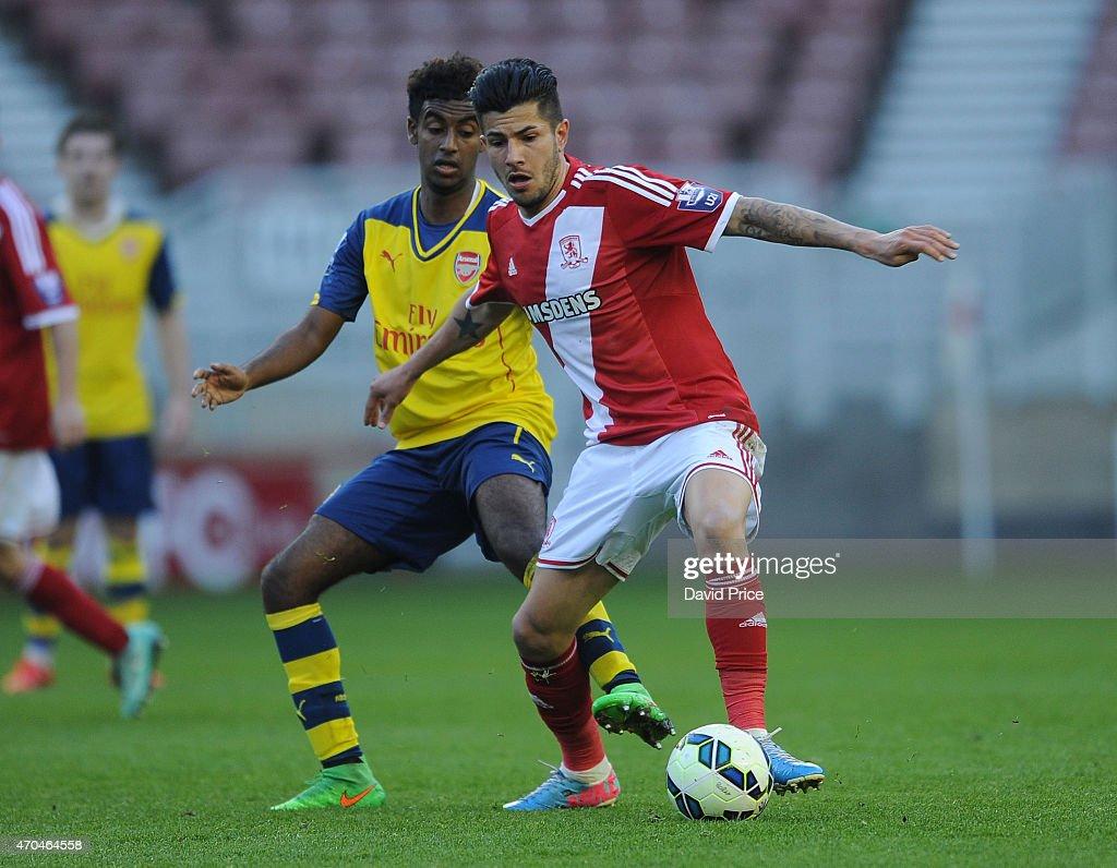 Middlesbrough v Arsenal: U21 Premier League : News Photo
