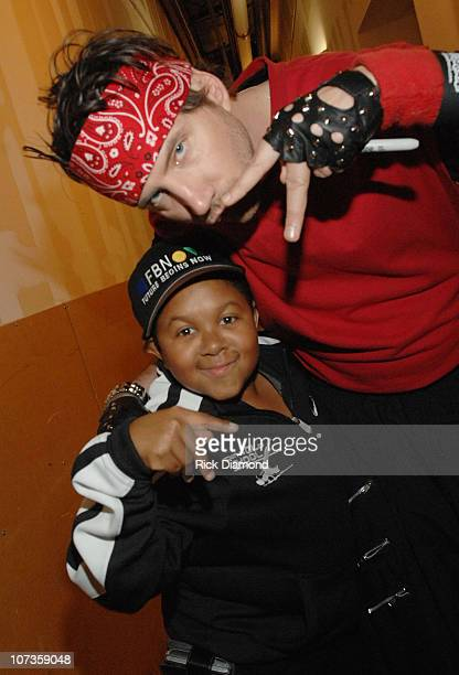 Emmanuel Lewis and Jamie Kennedy during Kickin' It Old Skool Breakdance Contest at StoneCrest Mall at Stonecrest Mall in Atlanta Georgia United States