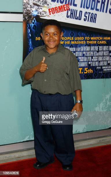 Emmanuel Lewis during Dickie Roberts Former Child Star Premiere at Arclight Theater in Hollywood California United States