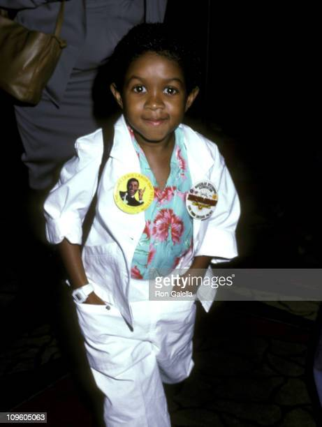 Emmanuel Lewis during Jerry Lewis Muscular Dystrophy Telethon September 1 1986 at Caesar's Palace in Las Vegas Nevada United States