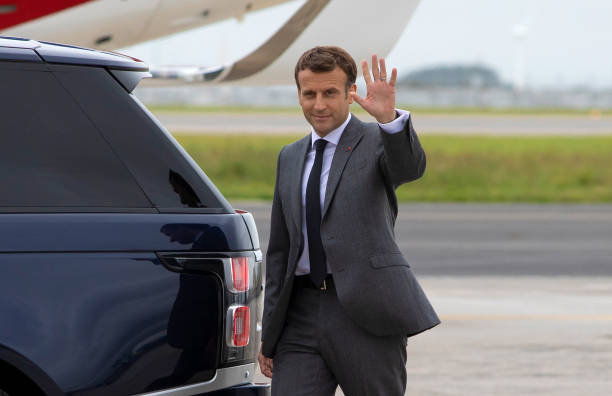GBR: G-7 Leaders Summit Arrivals