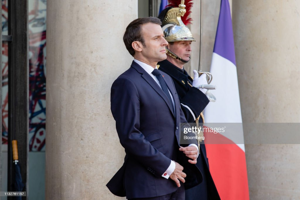 FRA: France's President Emmanuel Macron Meets China's President Xi Jinping