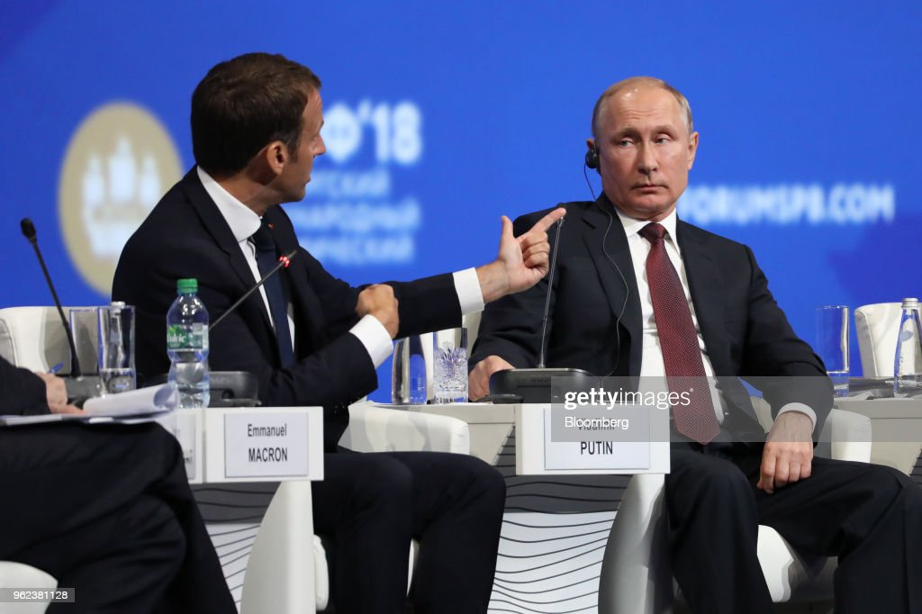 Day Two Of The St Petersburg International Economic Forum 2018
