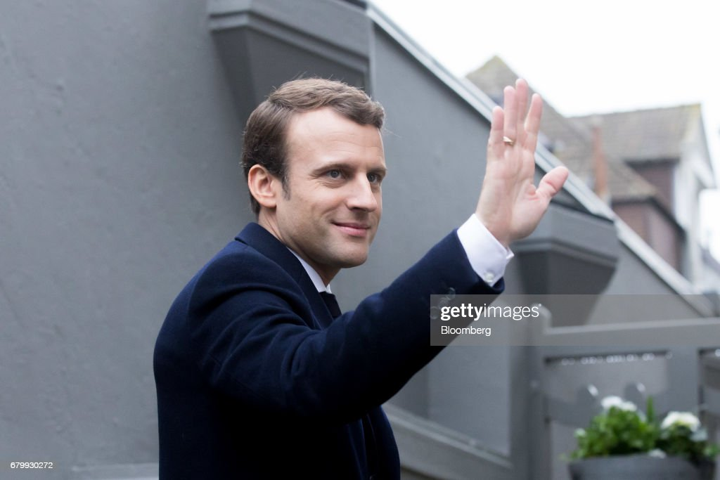 France Goes To The Polls To Elect The Republic's 25th President : News Photo