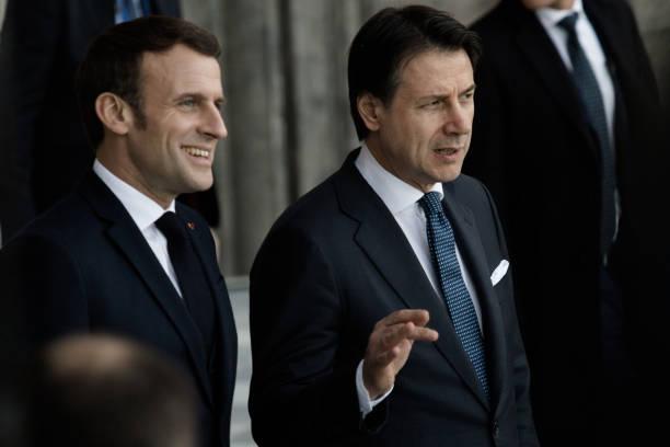 ITA: Italy-France Summit In Naples