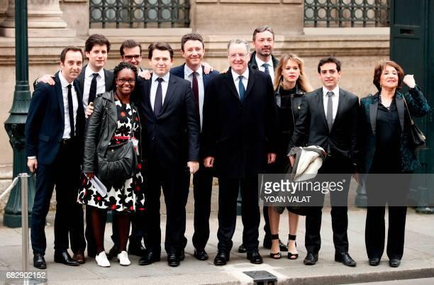 Emmanuel Macron's campaign team members campaign manager JeanMarie Girier La Republique en marche vice secretary general Julien Denormandie adviser...