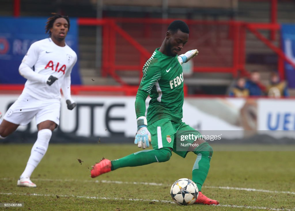 Tottenham Hotspur U19 v Monaco U19: UEFA Youth League : Fotografía de noticias