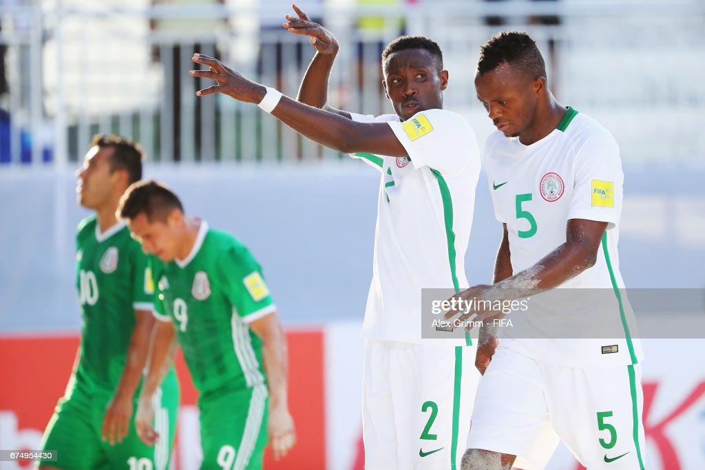 Mexico v Nigeria- FIFA Beach Soccer World Cup Bahamas 2017 : News Photo