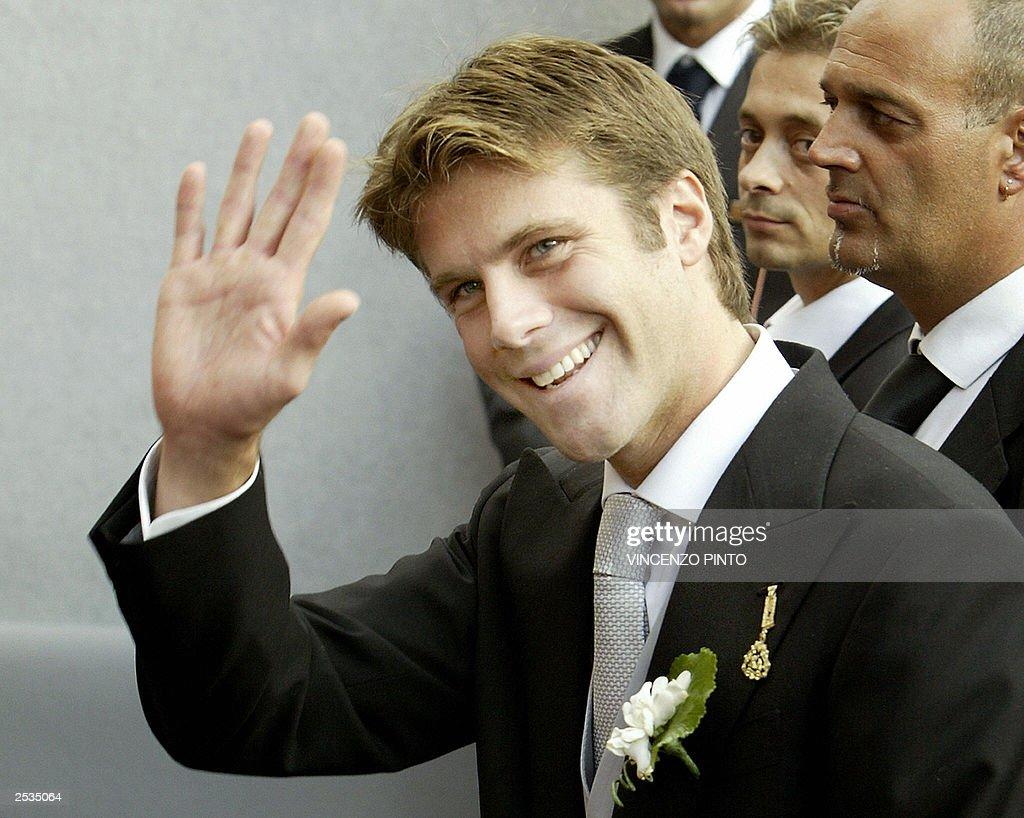 Emmanuele Filiberto of Savoy, grandson o : News Photo