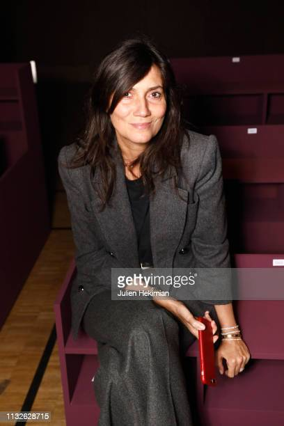 Emmanuelle Alt attends the Kenzo show as part of the Paris Fashion Week Womenswear Fall/Winter 2019/2020 on February 27 2019 in Paris France