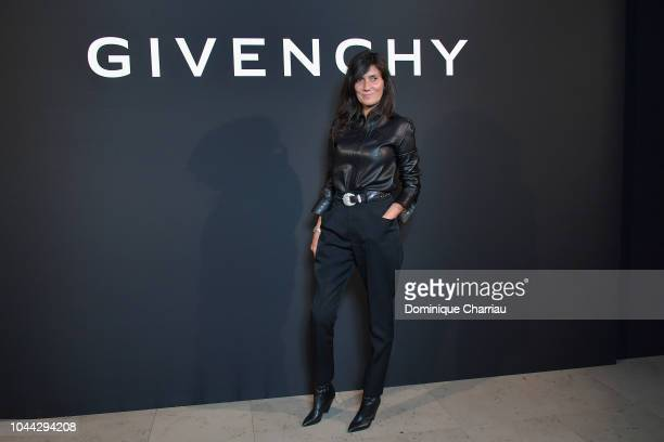 Emmanuelle Alt attends the L'Interdit Givenchy Photocall as part of the Paris Fashion Week Womenswear Spring/Summer 2019 on October 1 2018 in Paris...