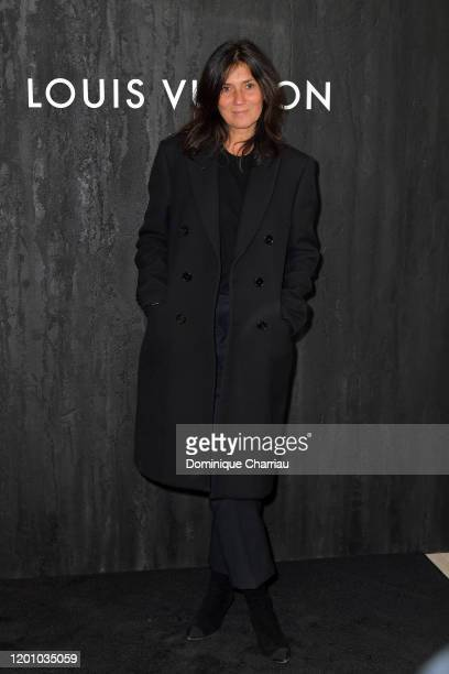 Emmanuelle Alt attends the Louis Vuitton's Jewelry Launch as part of Paris Fashion Week on January 21 2020 in Paris France