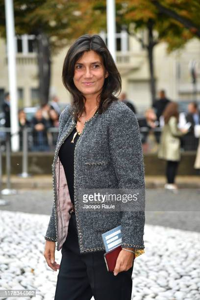 Emmanuelle Alt attends the Miu Miu Womenswear Spring/Summer 2020 show as part of Paris Fashion Week on October 01 2019 in Paris France