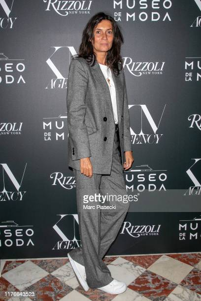 Emmanuelle Alt attends the Museo de la Moda Musings on Fashion Style Launch Book as part of Paris Fashion Week on September 23 2019 in Paris France